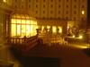 中庭のライトアップ(日航ハウステンボス)