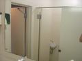洗面所の鏡