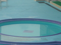 浅いプール