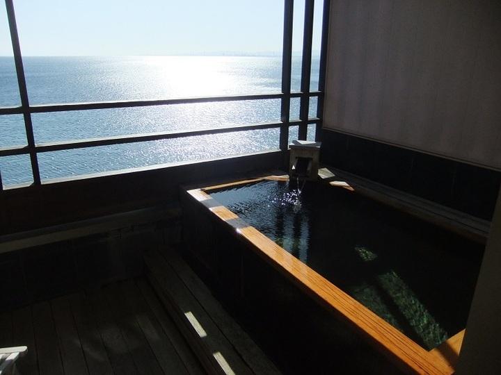 部屋付き露天風呂 その2