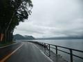 支笏湖 その2 湖畔を走ります~!