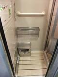 シャワー室の脱衣場