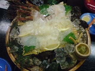 写真クチコミ:魚集 山下屋 ヒラメの刺身