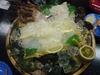 魚集 山下屋 ヒラメの刺身