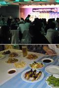 20F宴会場にて「キャッスルスカイビアドーム」