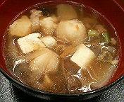 椀盛り 芋の子汁