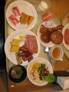 朝食バイキング北海道名物がいっぱい