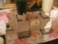 ミキサーで、その場で作ってくれる!新鮮野菜と果物のジュース