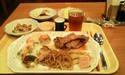 私の夕食メニュー