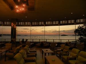 南三陸ホテル観洋ロビー