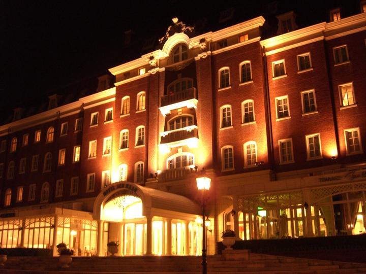 ホテルデンハーグ ライトアップ