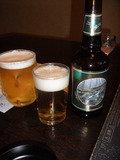 地ビールと共に