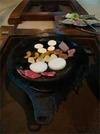 1日目の夕食 伊豆牛の鉄板焼き