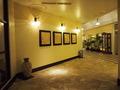 レストラン横廊下