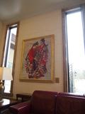 ロビーの絵画