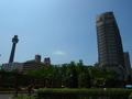 ホテルとマリンタワー