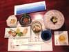 別荘 今昔庵の夕食