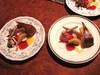 別荘 今昔庵の夕食 オーナー手作りのデザート