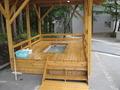 蔵王温泉宿泊施設では唯一の足湯だそうです。