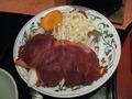 夕食(トマト鍋)