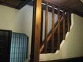 母屋の階段
