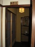 母屋1階客室入り口