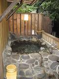 客室の露天風呂(もちろん貸切!)