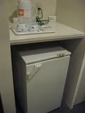 洋室のお部屋・冷蔵庫