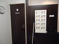 大浴場更衣室の貴重品ロッカー
