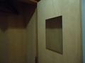 クローゼット扉の鏡