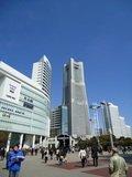 ホテルのある横浜ランドマークタワーの外観