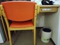 客室の椅子