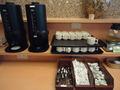 朝食バイキング会場 喫茶1-2-3 コーヒー