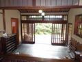 花小宿の玄関