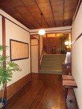 花小宿の廊下