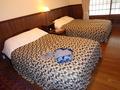花小宿・洋室のベッド