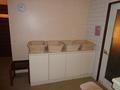 花小宿の浴室「カエデロ」の脱衣所