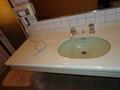 花小宿の浴室「カエデロ」脱衣所の洗面台