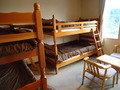 客室の二段ベッド
