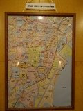 昭和31年の芝地区の地図