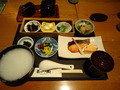 日本料理 花山椒での和朝食