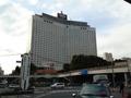 ホテル外観(品川駅前よりシナガワグース全体像)