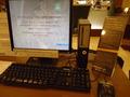 デジタルオアシスのパソコン