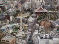 27F 仏蘭西料理 蒔絵から見た浅草寺・花やしき遊園地