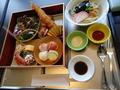 和食ダイニングレストラン「くりや せん」での昼食(子供会席)