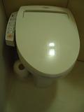 客室のトイレ