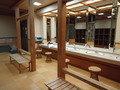 大浴場の脱衣所