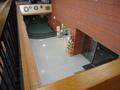 2階から見た玄関
