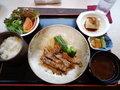 岡山県産豚ロース使用 豚テキ定食