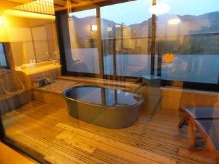 お部屋の露天風呂です。